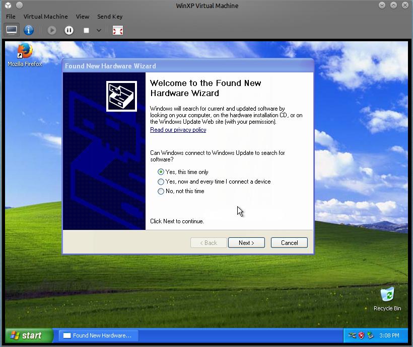 Virtualize a broken Windows XP machine with KVM or Xen, Part2